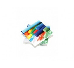 20 serviettes 33x33cm 3 plis Colorful Crayons