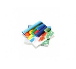 20 serviettes 33x33cm 3 plis Colorful Crayons
