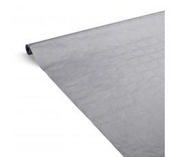 LE NAPPAGE - Nappe de Table en Papier Damassé Couleur - Nappe Déperlante - Recyclable et Biodégradable - Nappe Papier Couleur en
