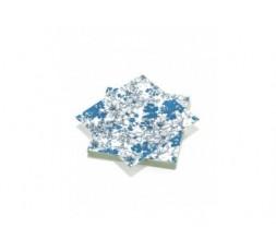 20 serviettes 33x33cm 3 plis Blue Dreams